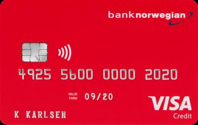 resekort norwegian